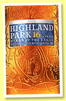 Highland Park 16 yo 'Wings of the Eagles' (44.5%, OB, travel retail, 2018)