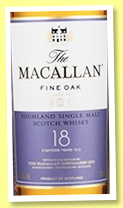 Macallan 18 yo 'Fine Oak' (43%, OB, +/-2017)