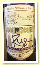 Smooth Ambler 8 yo 'Old Scout Rye' (64.1%, OB for Smoky Beast, cask #990)