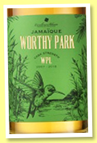 Worthy Park 10 yo 2007/2018 (57%, Excellence Rhum, Jamaica, 199 bottles)