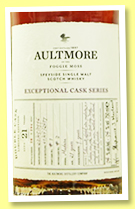 Aultmore 21 yo 1996/2018 (54%, OB, Exceptional Cask, for Chief Whisky Society, China, 294 bottles)