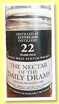 Clynelish 22 yo 1995/2018 (55.7%, The Nectar of the Daily Drams)