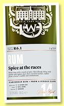 Foursquare 14 yo 2002 (57.3%, Scotch Malt Whisky Society, #R6.1, 'Spice at the Races', Barbados, +/-2017)