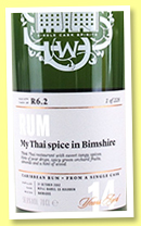 Foursquare 14 yo 2002 (56.8%, Scotch Malt Whisky Society, Barbados, #R6.2, refill bourbon, 'My Thai spice in Bimshire', 228 bottles)