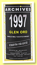 Glen Ord 15 yo 1997/2012 (54.2%, Archives, hogshead)
