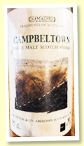 Longrow 1973/1988 (50%, Samaroli Fragments Of Scotland, 648 bottles)