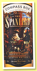 The Story of the Spaniard (43%, Compass Box, blended malt, 2018)