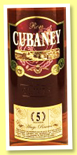 Cubaney 5 yo 'Anejo Reserva' (38%, OB, Dominican Republic, +/-2017)