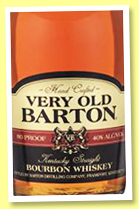 Very Old Barton (40%, OB, USA, Kentucky Straight Bourbon, +/-2018)