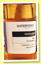Waterford 261 days old 2018/2018 (68.34%, OB/cask sample, Irish single malt, cask #8224)