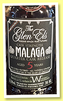 Glen Els 5 yo 'Malaga' (51.3%, OB, Germany, batch #1678, 108 bottles, +/-2018)
