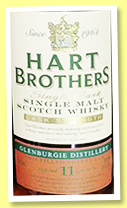 Glenburgie 11 yo 2008/2019 (56.6%, Hart Bros, selected by Gianni Migliore, Switzerland, first fill sherry, cask #6707, 252 bottles)