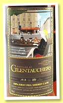 Glentauchers 12 yo 2005/2017 (63.7%, Chieftain's, Taiwan, first fill oloroso sherry cask, cask #900384, 616 bottles)