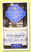 Glentauchers 12 yo 2005/2017 (43%, Jean Boyer, Best Casks of Scotland, sherry, 1092 bottles)