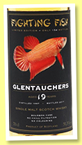 Glentauchers 19 yo 1997/2017 (51.5%, Jack Wiebers, Fighting Fish, 154 bottles)