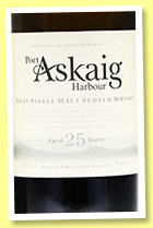 Port Askaig 25 yo (45.8%, Elixir Distillers, for North America, 3000 bottles, 2019)