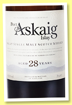 Port Askaig 28 yo (45.8%, Elixir Distillers, for North America, 3000 bottles, 2019