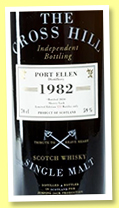 Port Ellen 28 yo 1982/2010 (59%, Jack Wiebers, The Cross Hill, sherry cask, 122 bottles)