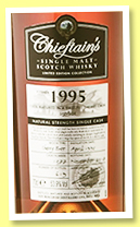 Chieftain's 1995/2014 'Sherry Cask' (50.8%, Ian Macleod, for Taiwan, 1st Fill Sherry But, cask #1369, 621 bottles)