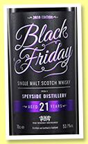 Black Friday 21 yo '2019 Edition' (53.1%, The Whisky Exchange, 1800 bottles)
