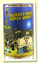 Blended Malt #1 18 yo batch #3 (47.3%, That Boutique-y Whisky Company, 1049 bottles)