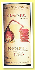 Borderies N°65 (55.8%, Cognac Grosperrin, +/-2019)
