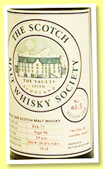 Brora 1977/1996 (59.4%, Scotch Malt Whisky Society, #61.5, 'An Islay by another name', 216 bottles)