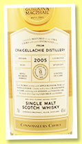 Craigellachie 13 yo 2005/2019 (46%, Gordon & MacPhail, Connoisseurs Choice, refill bourbon barrels, batch #19/101, 1314 bottles)