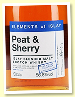 Elements Of Islay Peat & Sherry (56.8%, Elixir Distillers for The Whisky Exchange 20th Anniversary, sherry butt, 402 bottles)