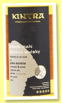 Glen Scotia 9 yo 2008/2018 (55.9%, Kintra, 239 bottles)
