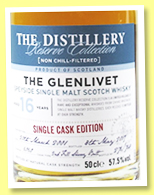 Glenlivet 16 yo 2001/2017 (57.5%, OB, Distillery Reserve Collection, second fill sherry butt, cask #6060, 768 bottles)