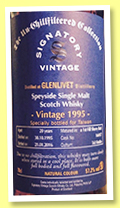 Glenlivet 20 yo 1995/2016 (57.2%, Signatory Vintage, The Un-Chillfiltered Collection, for Taiwan, First Fill Sherry Butt, cask #166957, 563 bottles)