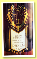 Grosperrin Borderies D65-A54 (56.7%, C. Dully Selection, Switzerland, 2019)