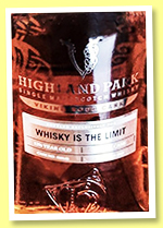 Highland Park 12.5 yo (56.7%, OB for Whisky Is The Limit, cask #500146)