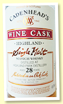 Highland Park 28 yo 1988/2017 (49.6%, Cadenhead, Port Hogshead since 2007, 222 bottles)