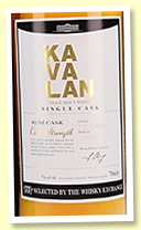 Kavalan 7 yo 2011/2019 (57.1%, OB for The Whisky Exchange '20th Anniversary', cask #M111104011A, rum, 151 bottles)