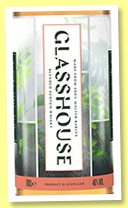Loch Lomond 'Glasshouse' (46%, Glasshouse, blended Scotch, 2019)