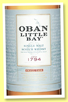 Oban 'Little Bay' (43%, OB, +/-2018)