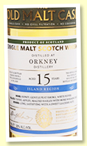 Orkney 15 yo 2003/2018 (50%, Hunter Laing 'Old Malt Cask', hogshead, 343 bottles)