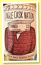 Teaninich 13 yo 2005/2019 (56.2%, Single Cask Nation, 2nd fill bourbon hogshead, cask #487, 277 bottles)