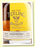 Teeling 27 yo 1991/2019 (44.1%, OB for The Whisky Exchange, cask #10678, rum cask, 160 bottles)