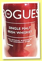The Pogues Single Malt (40%, OB, Irish single malt, 2019)