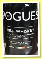 The Pogues (40%, OB, Irish blend, 2019)