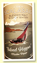 The Scalasaig 'Island Hopper' (43%, 3000 bottles, 2019)