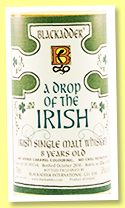 A Drop of the Irish 8 yo (58%, Blackadder, single malt, Irish, cask #DI 2015-6, 366 bottles, 2016)