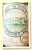 Ardbeg 1974/1991 (56%, Scotch Malt Whisky Society #33.11)
