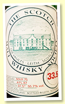 Ardbeg 1975/1987 (55.7%, Scotch Malt Whisky Society #33.5)