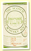 Ardbeg 9 yo 1998/2008 (57.4%, Scotch Malt Whisky Society, #33.68 'Honeycomb smoke')