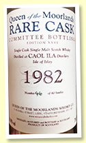 Caol Ila 1982/2008 (61.9%, Queen Of The Moorlands 'Rare Cask Edition XXVI, 60 bottles)