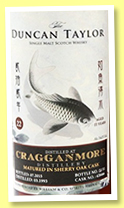 Cragganmore 22 yo 1993/2015 (54%, Duncan Taylor, for China, sherry, cask #428466, 51 bottles)